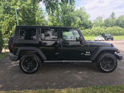 2009 Jeep Wrangler Unlimited for sale in Spencerport, NY