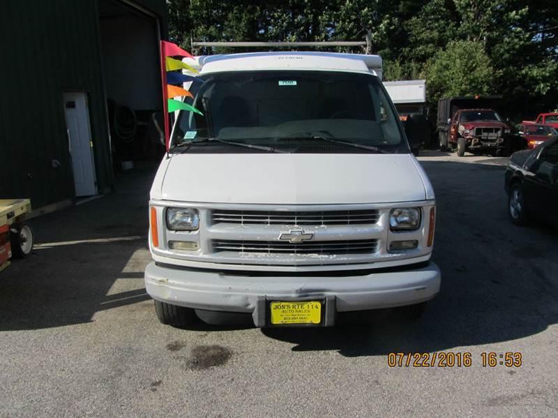 2002 chevy van 3500