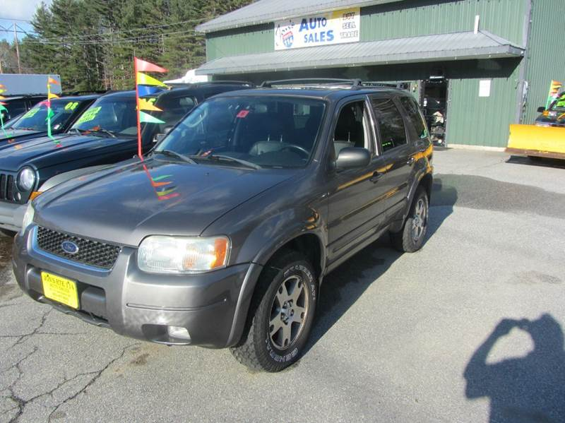 2004 ford escape limited 4wd 4dr suv in new boston nh jons route 114 auto sales. Black Bedroom Furniture Sets. Home Design Ideas
