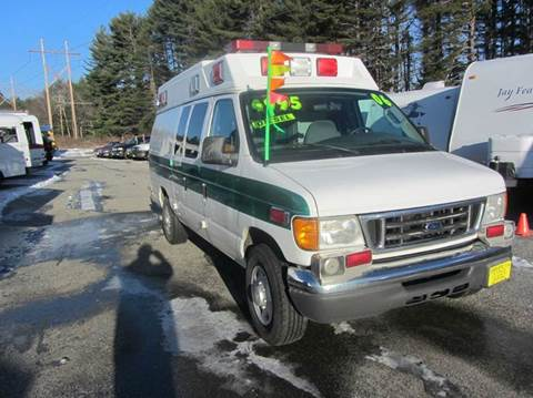 2006 Ford E-350 for sale in New Boston, NH