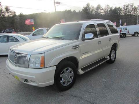 2004 Cadillac Escalade for sale in New Boston, NH