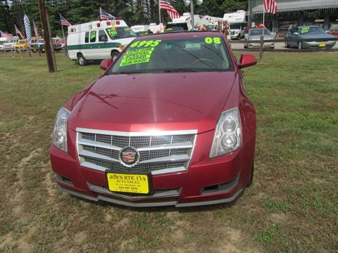 2008 Cadillac CTS for sale in New Boston, NH