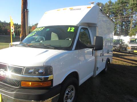 2012 Chevrolet Express Cutaway for sale in New Boston, NH