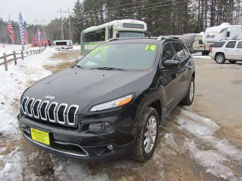 2014 Jeep Cherokee for sale in New Boston, NH