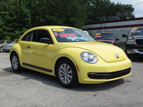 2015 Volkswagen Beetle for sale in Pell City, AL