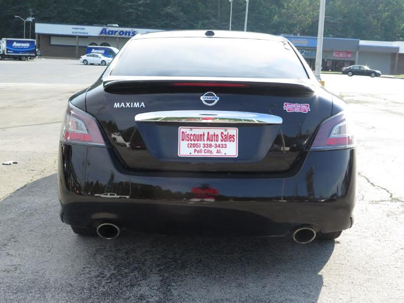 2012 Nissan Maxima S In Pell City Al Discount Auto Sales