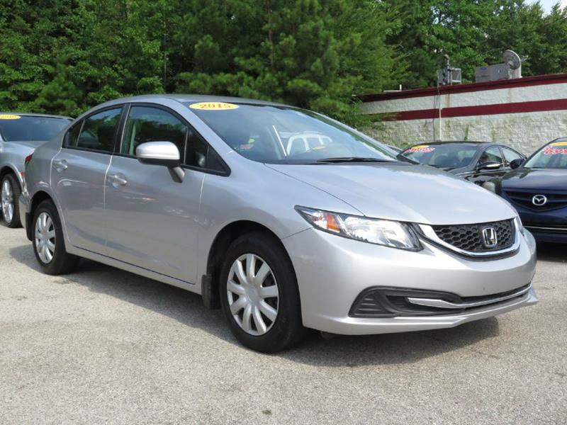 2015 Honda Civic Lx 4dr Sedan Cvt In Pell City Al Discount Auto Sales