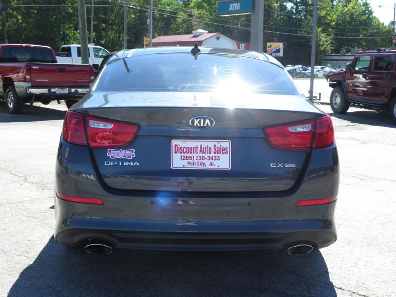 2015 Kia Optima Ex 4dr Sedan In Pell City Al Discount Auto Sales