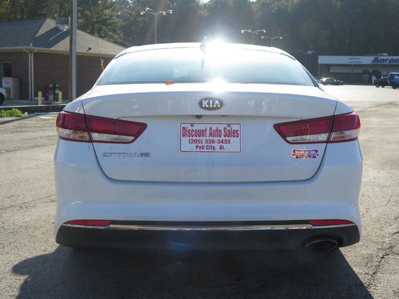 2017 Kia Optima Lx 4dr Sedan In Pell City Al Discount Auto Sales