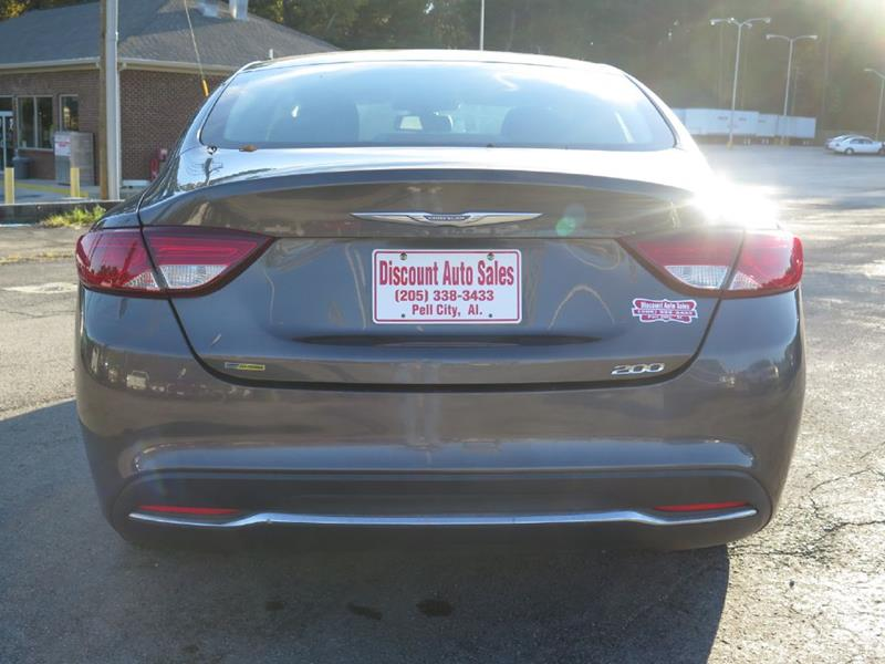 2015 Chrysler 200 Limited 4dr Sedan In Pell City Al Discount Auto