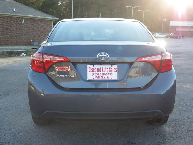 2018 Toyota Corolla L 4dr Sedan In Pell City Al Discount Auto Sales