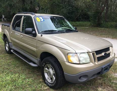 2003 Ford Explorer Sport Trac for sale in Gainesville, FL