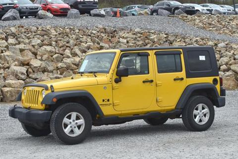 2008 Jeep Wrangler Unlimited for sale in Naugatuck, CT