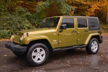 2007 Jeep Wrangler Unlimited for sale in Naugatuck, CT
