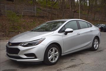 2016 Chevrolet Cruze for sale in Naugatuck, CT