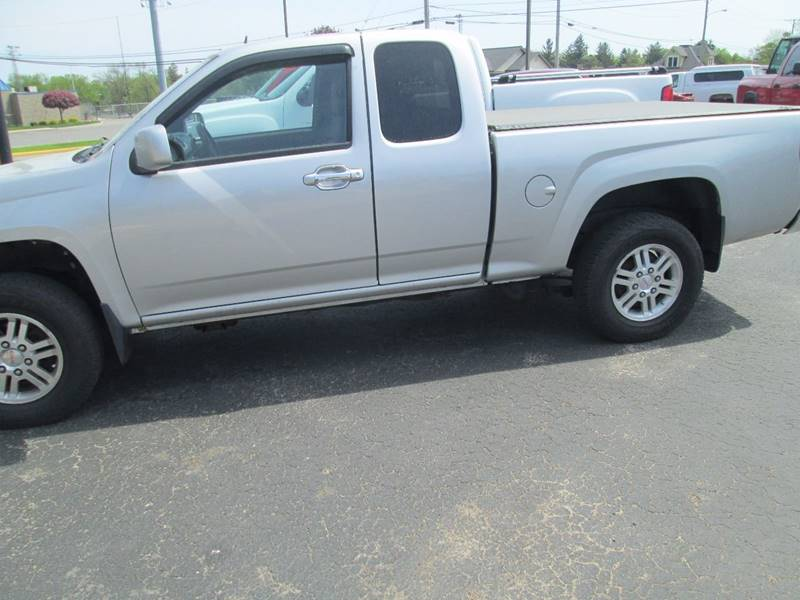 2011 GMC Canyon 4x4 SLE-1 4dr Extended Cab - Clintonville WI
