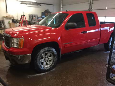 2007 GMC Sierra 1500 for sale at LEGACY AUTO SALES in Waterford PA