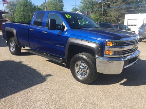 2015 Chevrolet Silverado 2500HD for sale at LEGACY AUTO SALES in Waterford PA