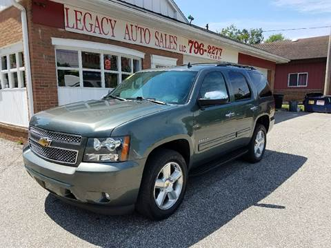 2011 Chevrolet Tahoe for sale at LEGACY AUTO SALES in Waterford PA
