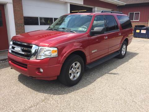 2008 Ford Expedition EL for sale at LEGACY AUTO SALES in Waterford PA