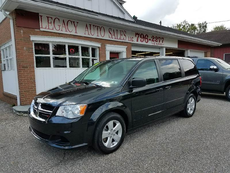 2014 Dodge Grand Caravan for sale at LEGACY AUTO SALES in Waterford PA