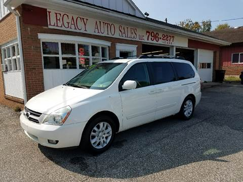 2007 Kia Sedona for sale at LEGACY AUTO SALES in Waterford PA