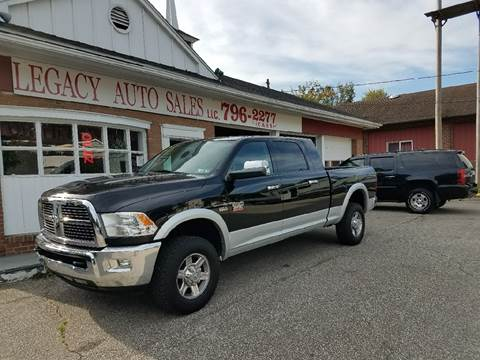 2012 RAM Ram Pickup 2500 for sale at LEGACY AUTO SALES in Waterford PA