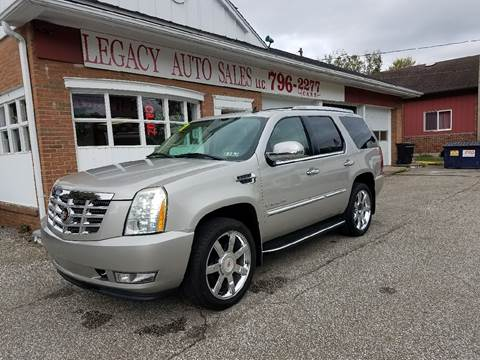 2007 Cadillac Escalade for sale at LEGACY AUTO SALES in Waterford PA