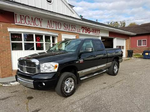 2008 Dodge Ram Pickup 2500 for sale at LEGACY AUTO SALES in Waterford PA
