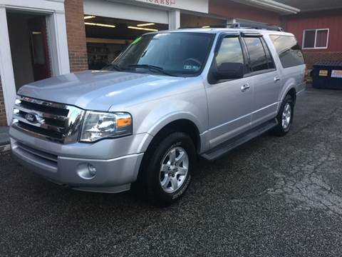2010 Ford Expedition EL for sale at LEGACY AUTO SALES in Waterford PA
