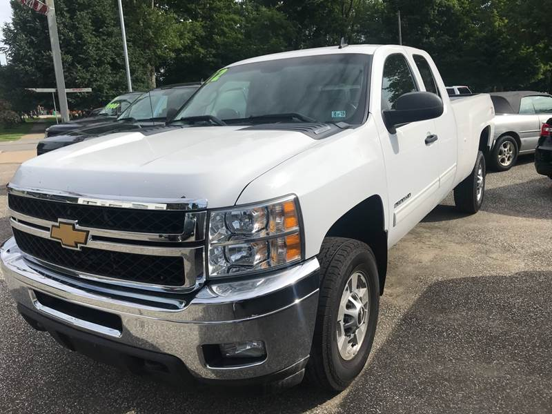 2012 Chevrolet Silverado 2500HD For Sale At LEGACY AUTO SALES In Waterford  PA