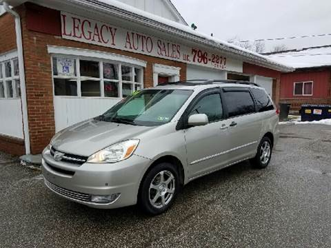 2004 Toyota Sienna for sale at LEGACY AUTO SALES in Waterford PA