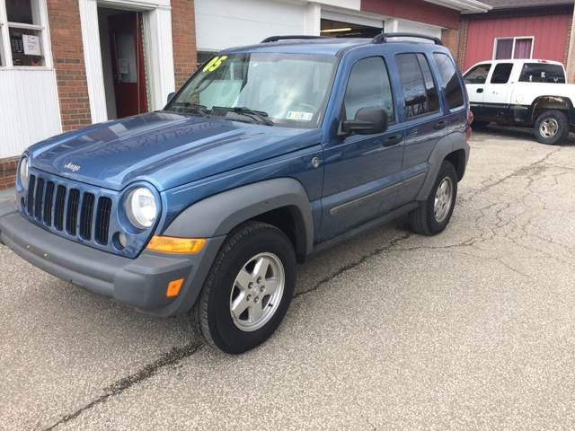 2005 Jeep Liberty for sale at LEGACY AUTO SALES in Waterford PA