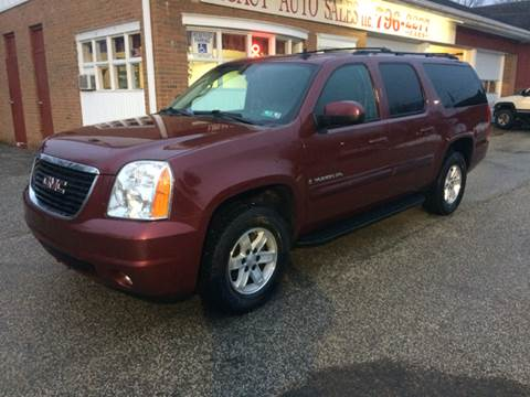 2008 GMC Yukon XL for sale at LEGACY AUTO SALES in Waterford PA