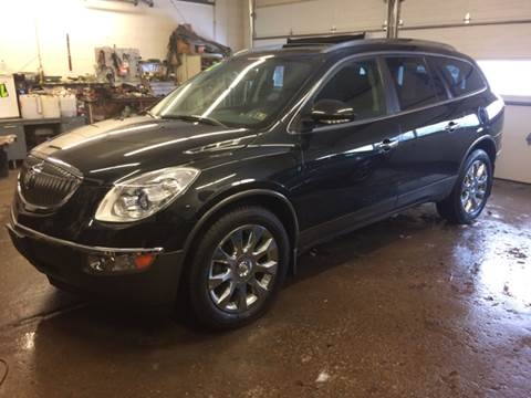 2012 Buick Enclave for sale at LEGACY AUTO SALES in Waterford PA