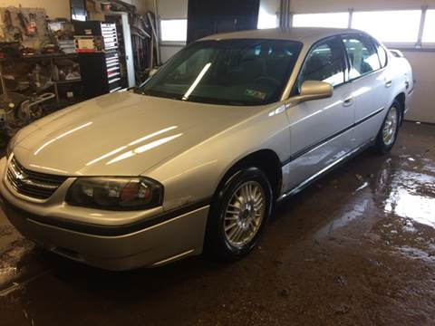 2001 Chevrolet Impala for sale at LEGACY AUTO SALES in Waterford PA