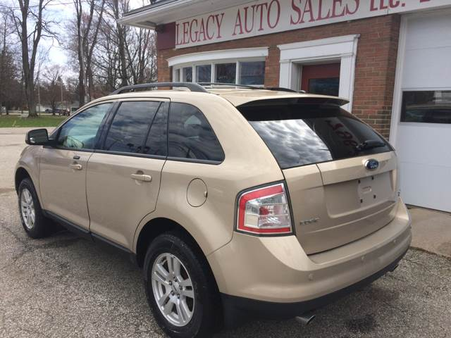 2007 Ford Edge for sale at LEGACY AUTO SALES in Waterford PA