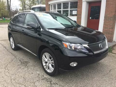 2010 Lexus RX 450h for sale at LEGACY AUTO SALES in Waterford PA