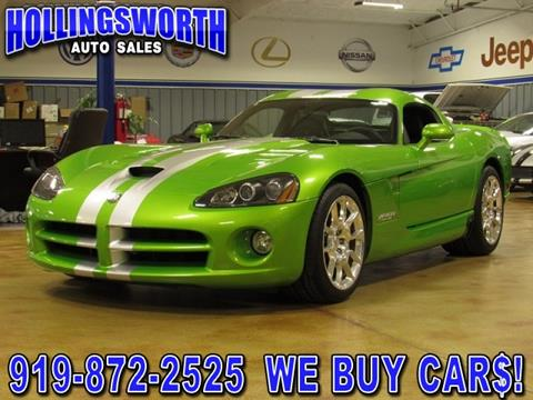 2009 Dodge Viper for sale in Raleigh, NC