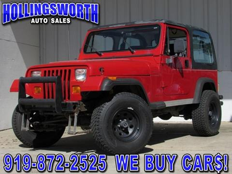 1994 Jeep Wrangler for sale in Raleigh, NC