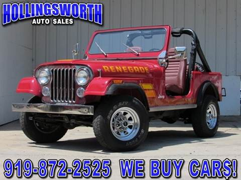 1984 Jeep CJ-7 for sale in Raleigh, NC