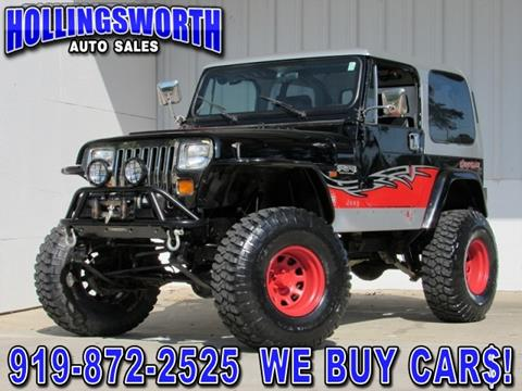 1992 Jeep Wrangler for sale in Raleigh, NC