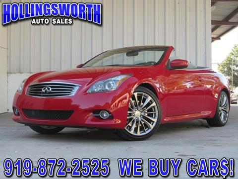 2013 Infiniti G37 Convertible for sale in Raleigh, NC