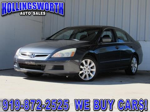 2006 Honda Accord for sale in Raleigh, NC