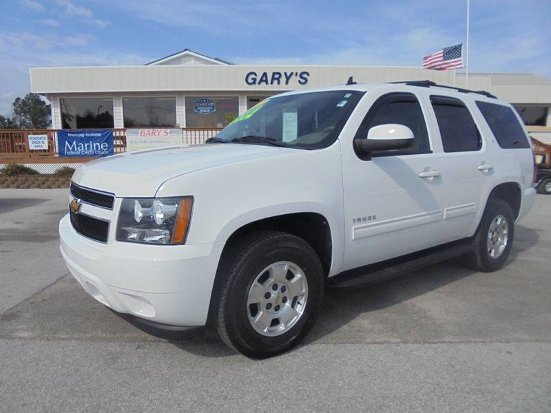 2012 Chevrolet Tahoe 4x4 LT 4dr SUV In Jacksonville NC - Gary's Auto