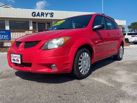 2003 Pontiac Vibe for sale at Gary's Auto Sales in Sneads NC