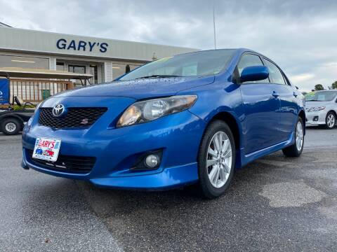 2010 Toyota Corolla for sale at Gary's Auto Sales in Sneads NC
