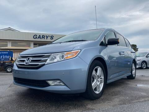 2011 Honda Odyssey for sale at Gary's Auto Sales in Sneads NC