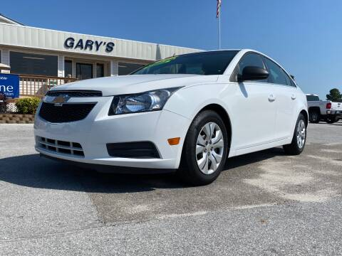 2012 Chevrolet Cruze for sale at Gary's Auto Sales in Sneads NC