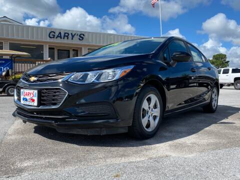 2017 Chevrolet Cruze for sale at Gary's Auto Sales in Sneads NC